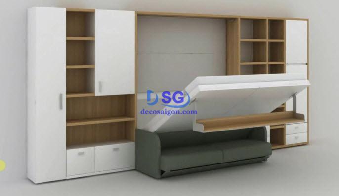 Chuyên nội thất thông minh TP Vinh, Nghệ An: bàn ăn, giường, tủ giày... 2